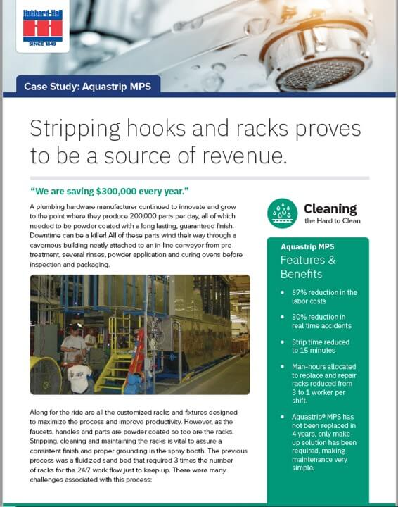 In-Line Paint Stripping with Aquastrip MPS