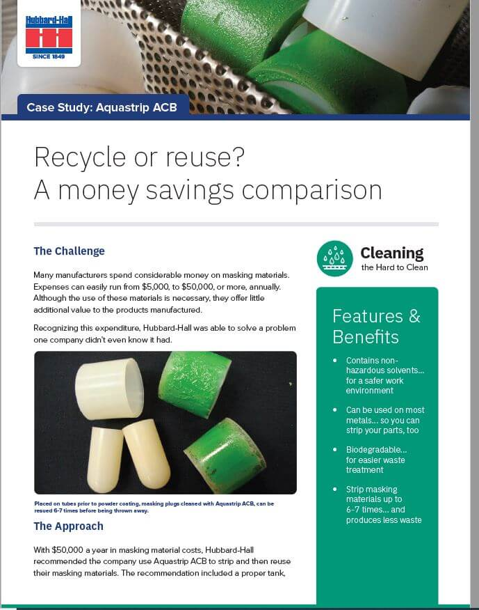 Recycle or Reuse? A Money Savings Comparison with Aquastrip ACB