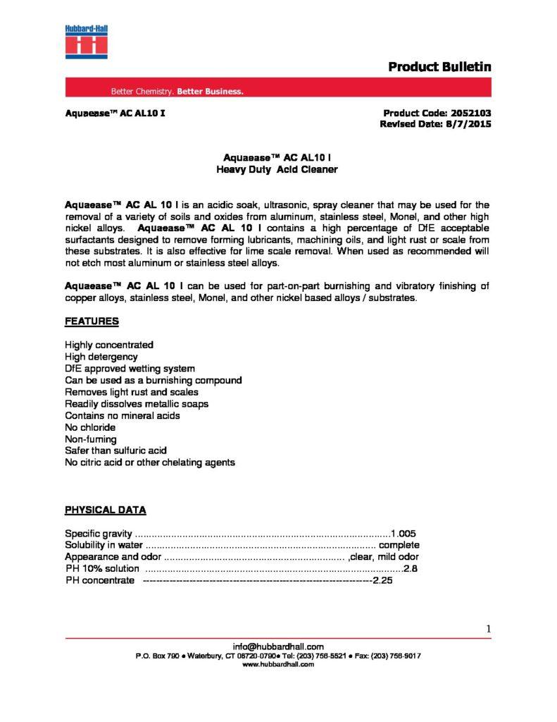 aquaease ac al10 I pb 2052103 pdf 791x1024