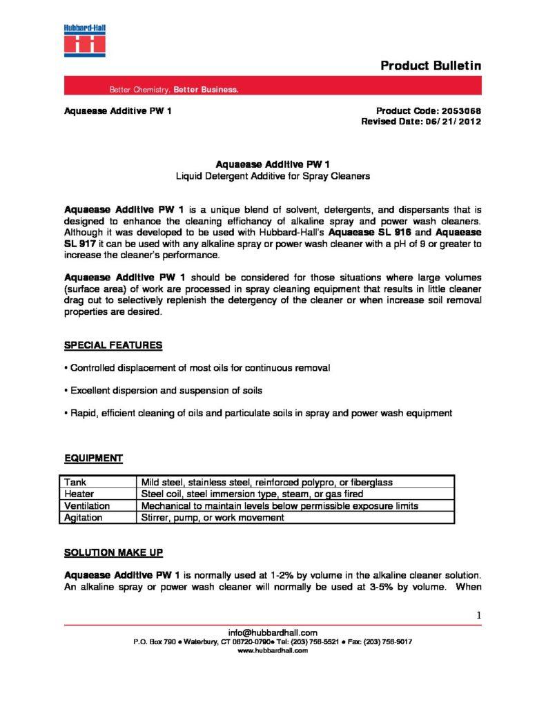 aquaease additive pw 1 pb 2053068 pdf 791x1024