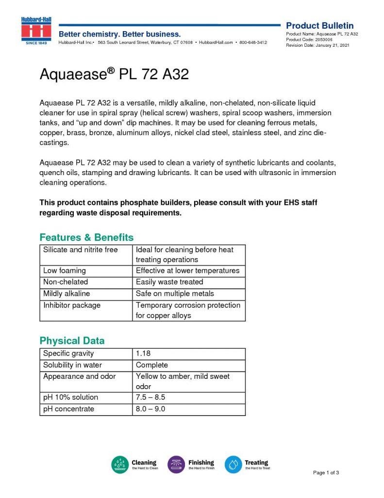 aquaease pl 72 a32 pb 2053006 pdf 791x1024