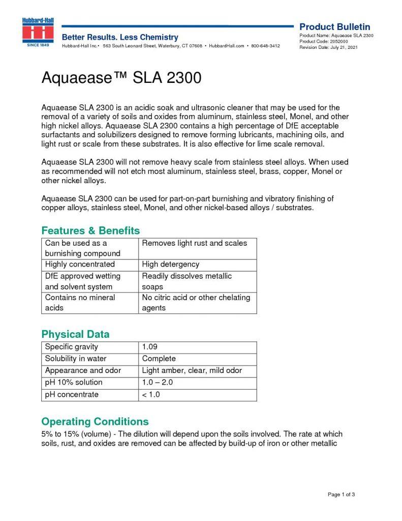 aquaease sla 2300 pb 2052000 pdf 791x1024