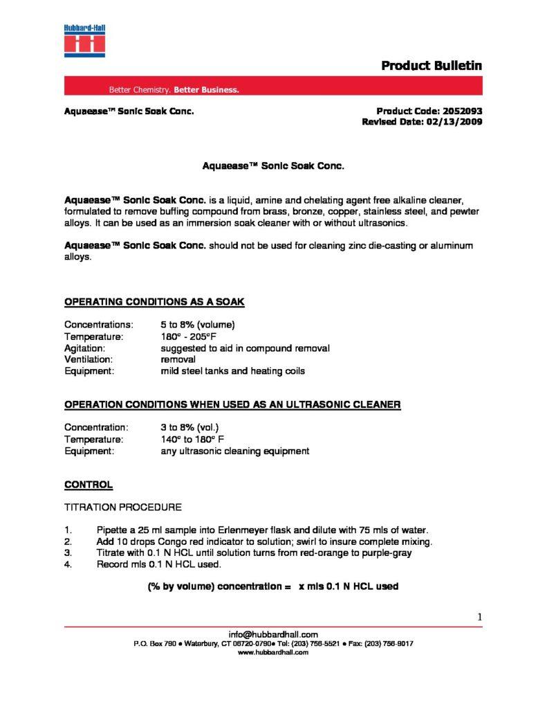 aquaease sonic soak conc. pb 2052093 pdf 791x1024