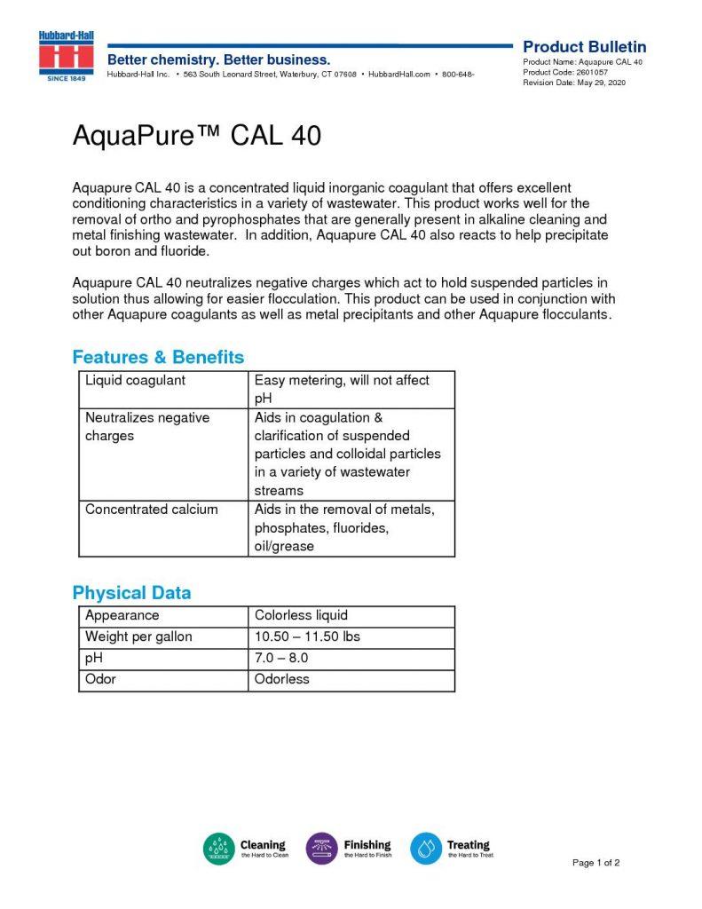 aquapure cal 40 pb 2601057 pdf 791x1024