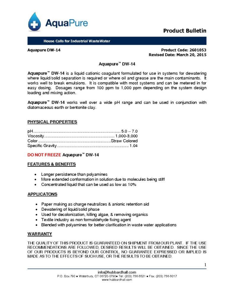 aquapure dw 14 pb 2601053 pdf 791x1024
