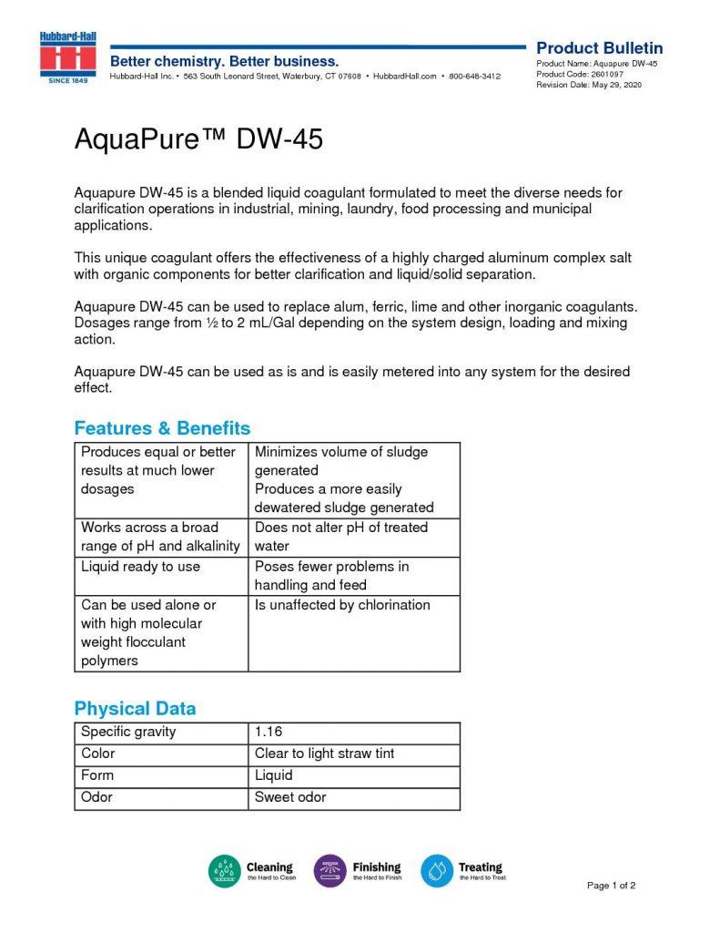 aquapure dw 45 pb 2601097 pdf 791x1024