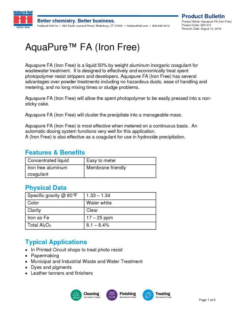 aquapure fa iron free pb 2601212 pdf 791x1024
