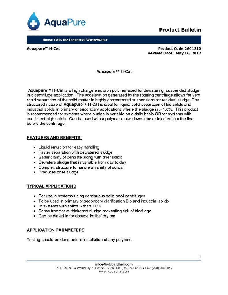 aquapure h cat pb 2601210 pdf 791x1024