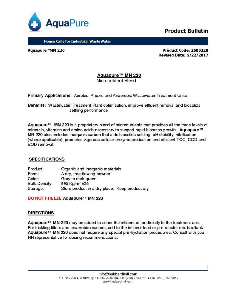 aquapure mn 220 pb 2600220 pdf 791x1024