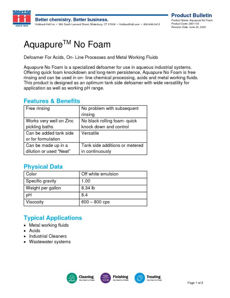 aquapure no foam pb 2601100 1 pdf 791x1024