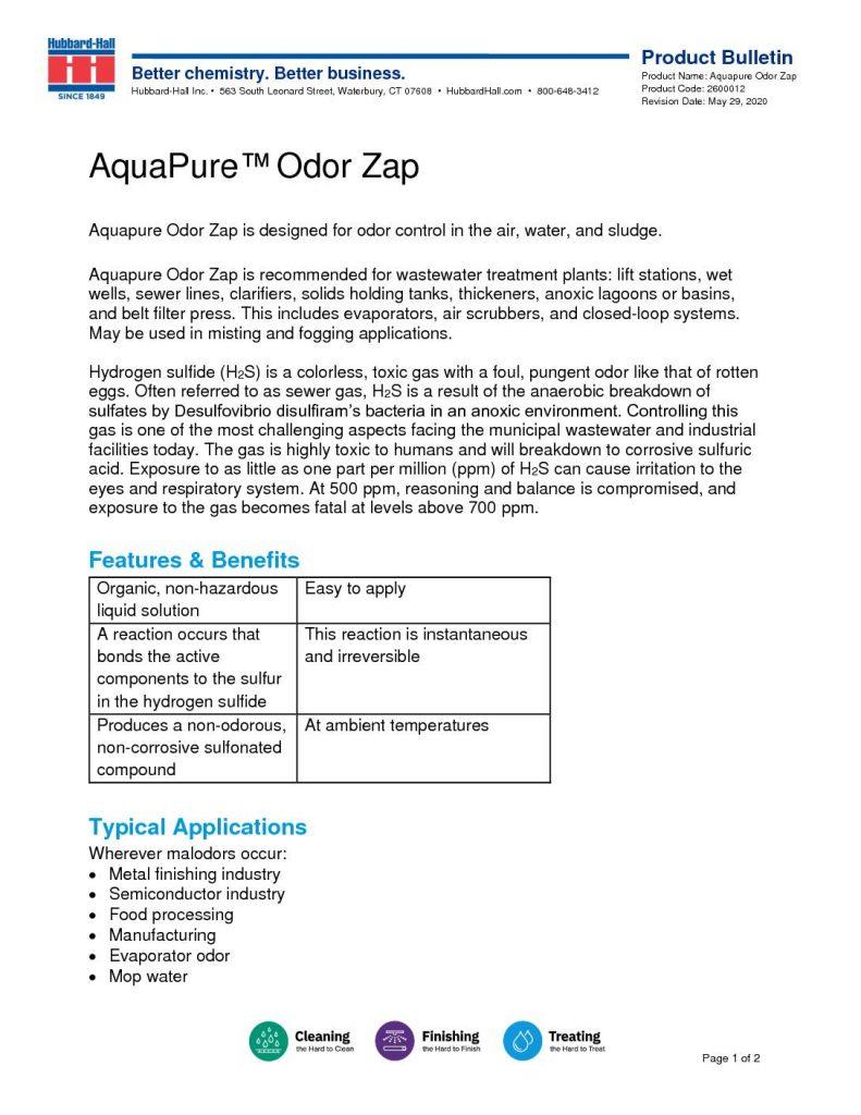 aquapure odor zap pb 2600012 1 pdf 791x1024