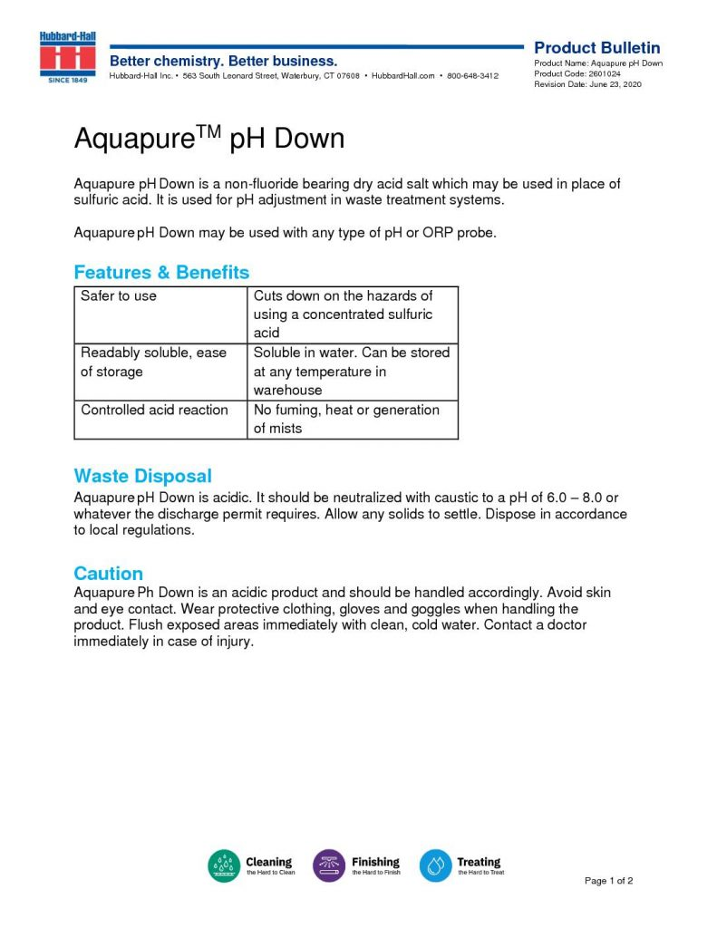 aquapure pH down pb 2601024 pdf 791x1024