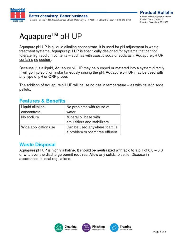aquapure pH up pb 2601037 pdf 791x1024