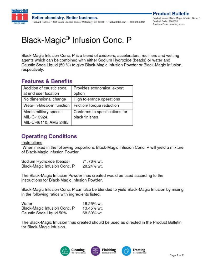 black magic infusion conc. p pb 2232030 pdf 791x1024
