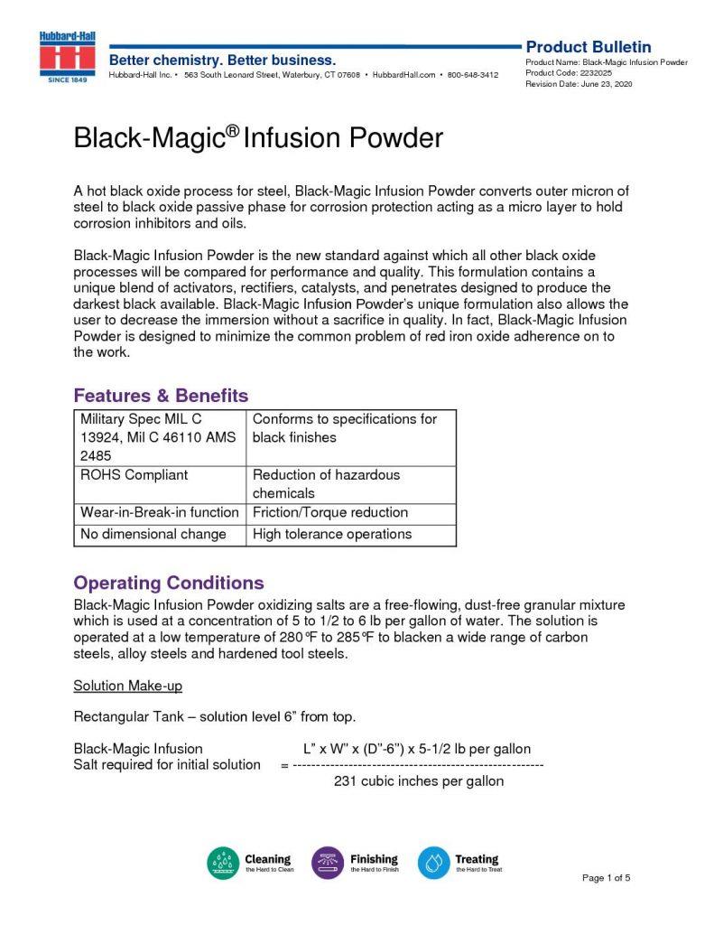 black magic infusion powder pb 2232025 pdf 791x1024