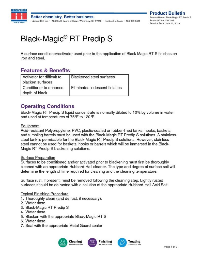 black magic rt predip s pb 2260001 pdf 791x1024