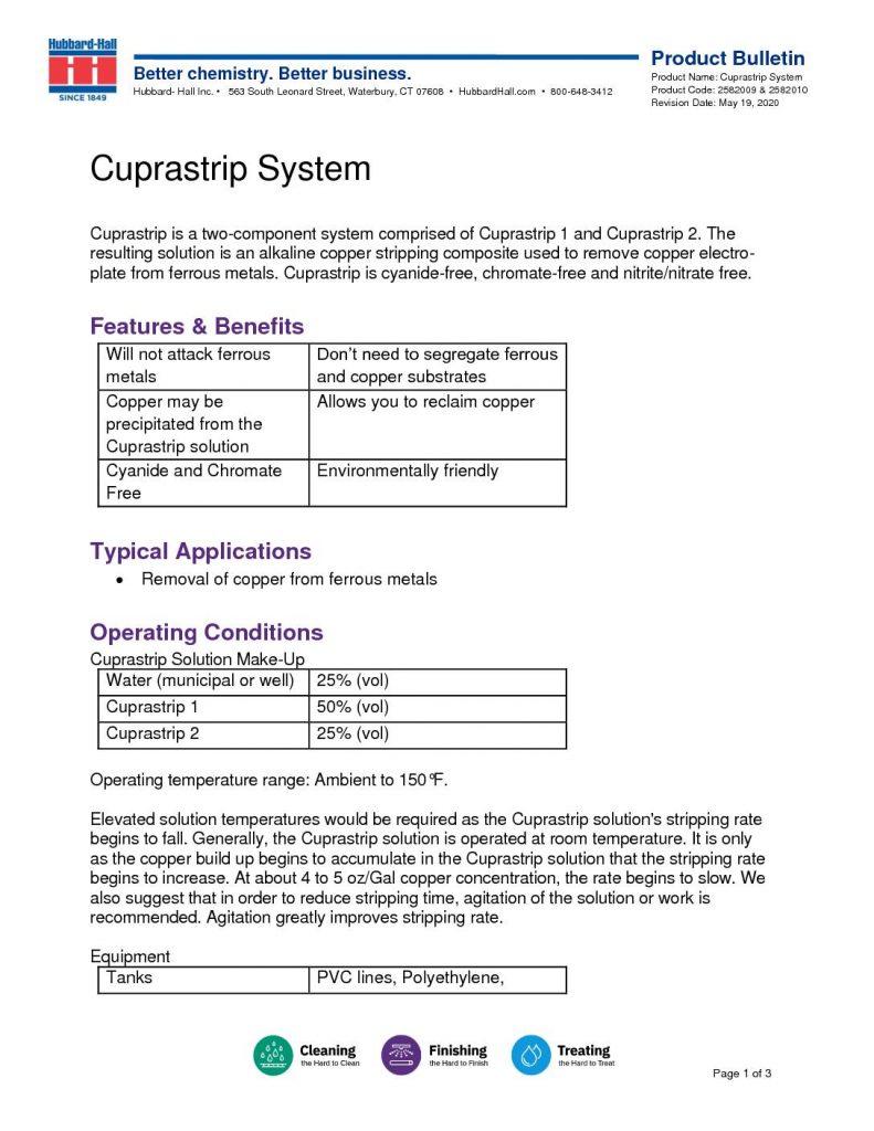 cuprastrip system pb 2582009 2582010 pdf 791x1024