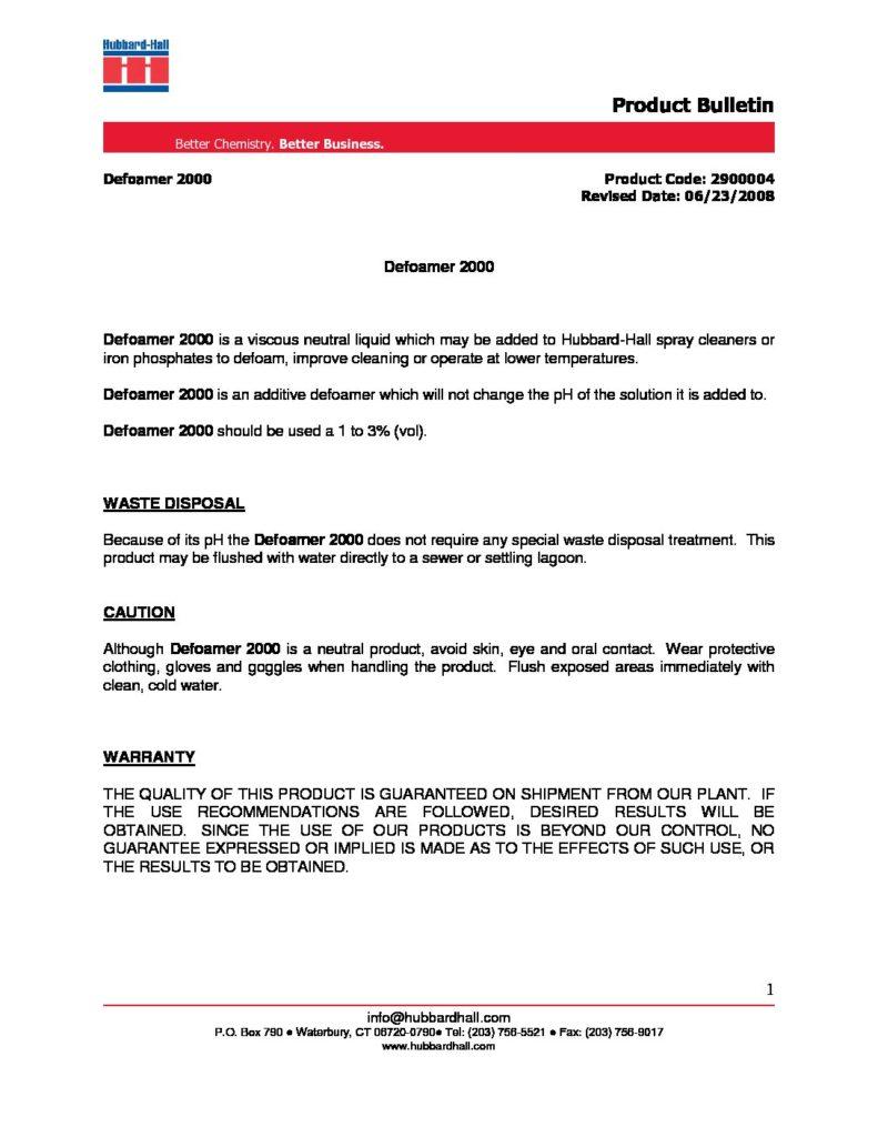 defoamer 2000 pb 2900004 pdf 791x1024