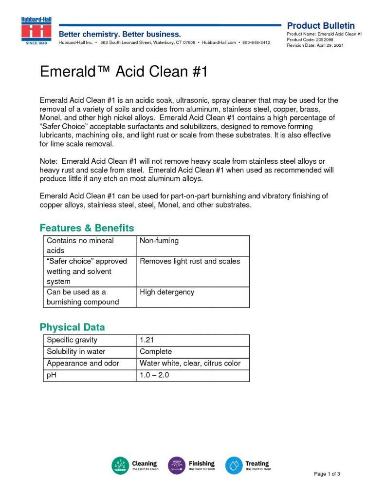 emerald acid clean 1 pb 2052098 pdf 791x1024