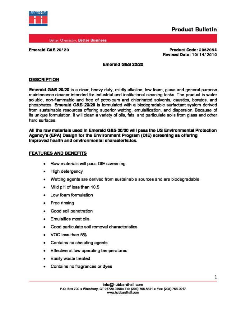 emerald gs 20 20 pb 2052094 pdf 791x1024
