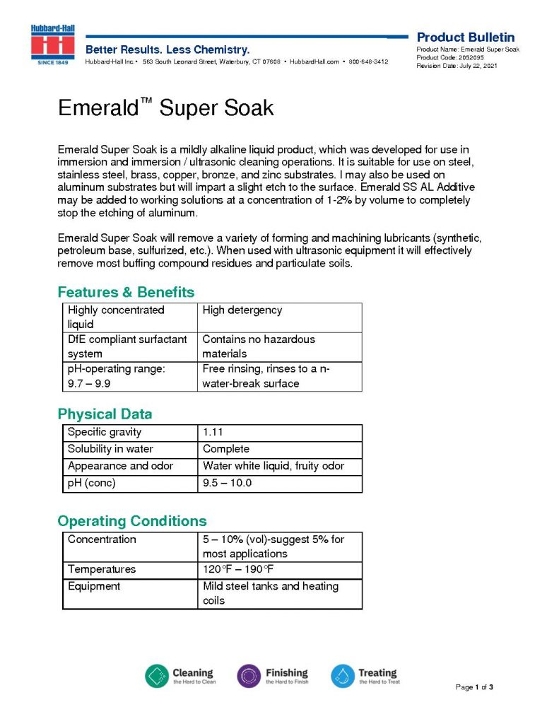 emerald super soak pb 2052095 pdf 791x1024