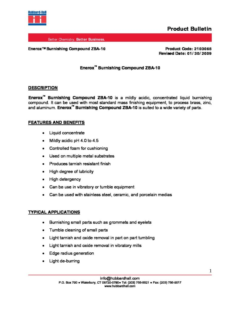 enerox burnishing compound zba 10 pb 2103065 pdf 791x1024