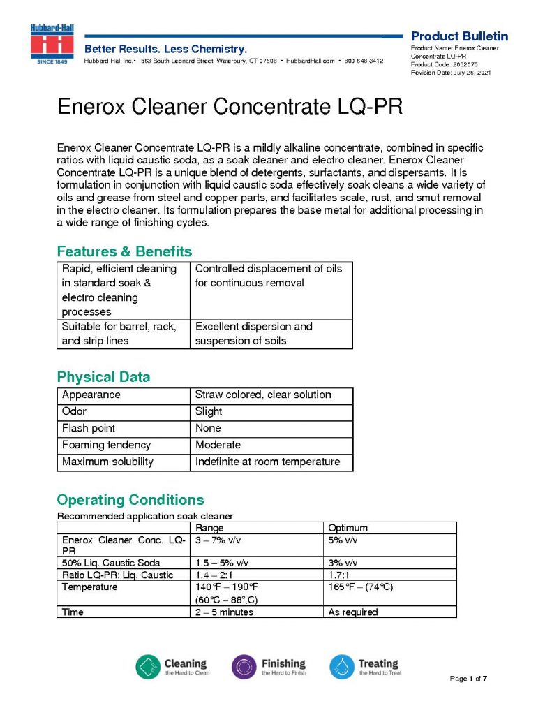 enerox cleaner concentrate lq pr pb 2052075 pdf 791x1024