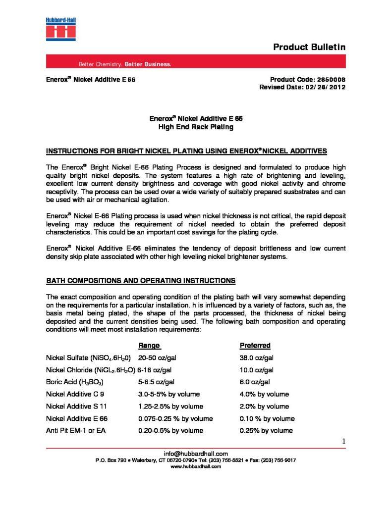 enerox nickel additive e 66 pb 2850008 pdf 791x1024