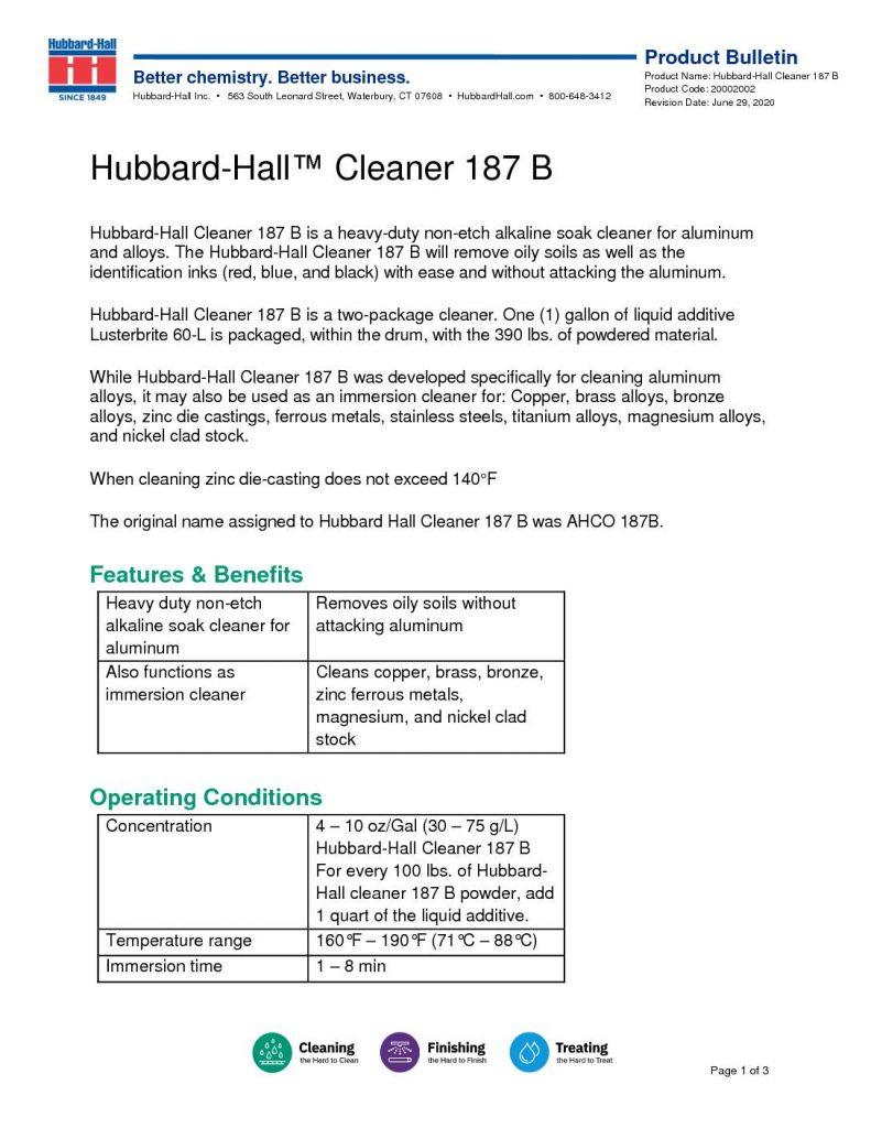 hubbard hall cleaner 187 b pb 2002002 pdf 791x1024