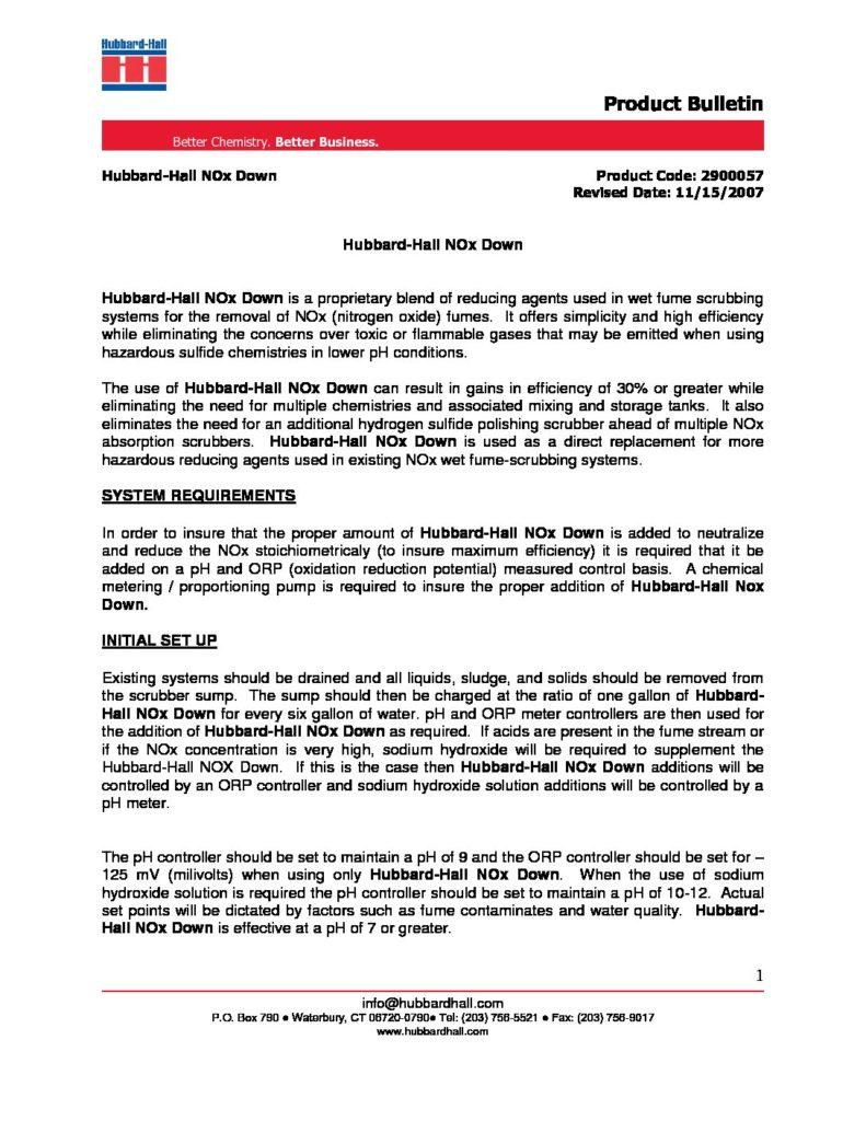 hubbard hall nox down pb 2900057 pdf 791x1024