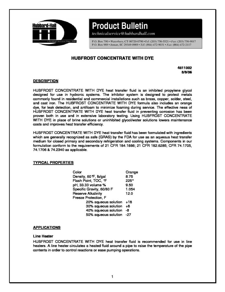 hubfrost concentrate with dye pb 4611002 pdf 791x1024