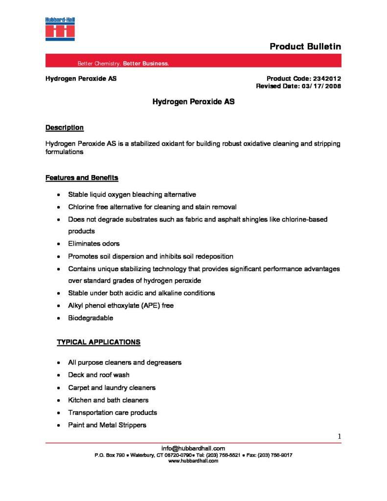 hydrogen peroxide as pb 2342012 pdf 791x1024