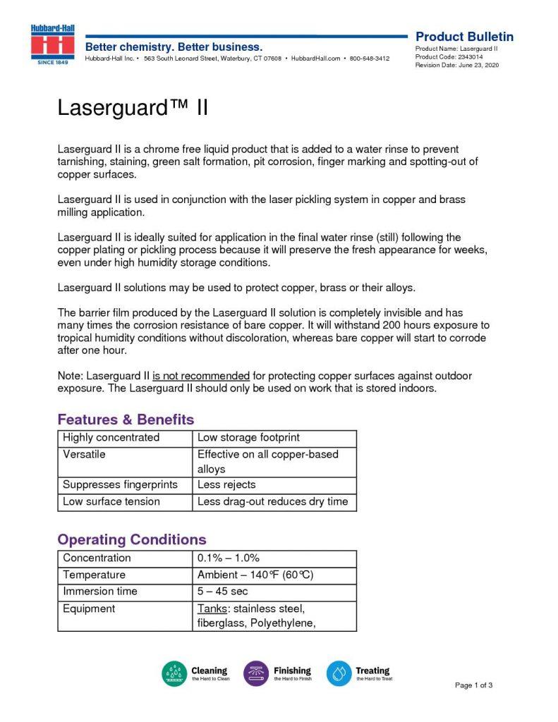 laserguard II pb 2343014 1 pdf 791x1024