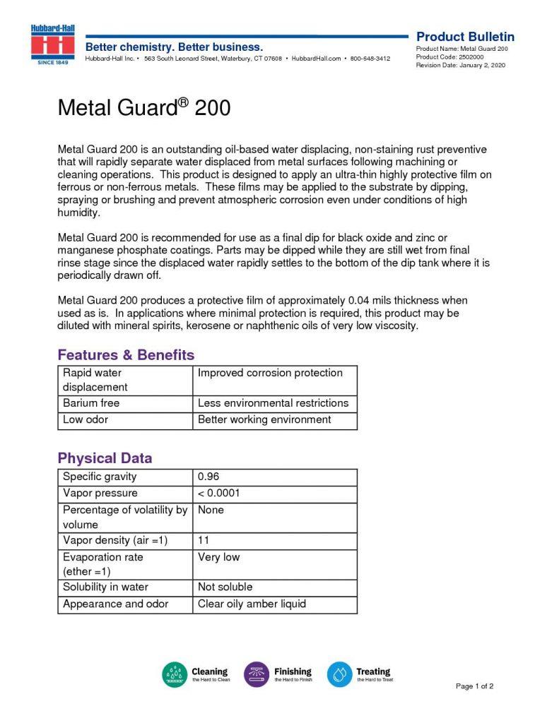 metal guard 200 pb 2502000 1 pdf 791x1024