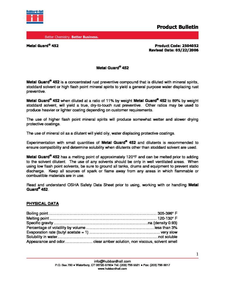 metal guard 452 pb 2504052 pdf 791x1024