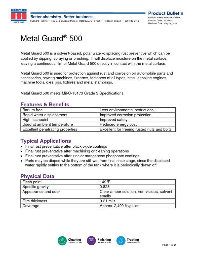 metal guard 500 pb 2505000 2 pdf 791x1024