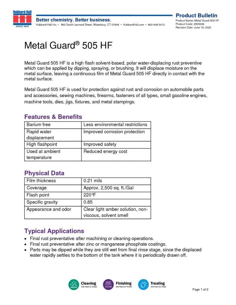 metal guard 505 hf pb 2505006 1 pdf 791x1024