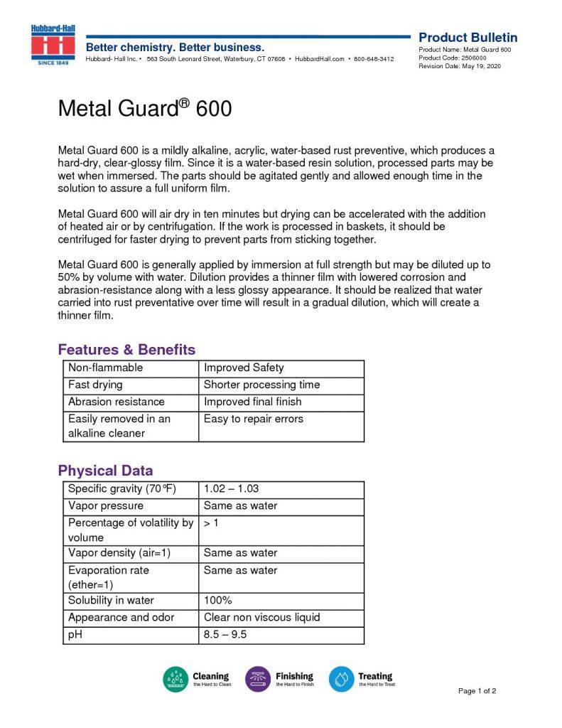 metal guard 600 pb 2506000 pdf 791x1024