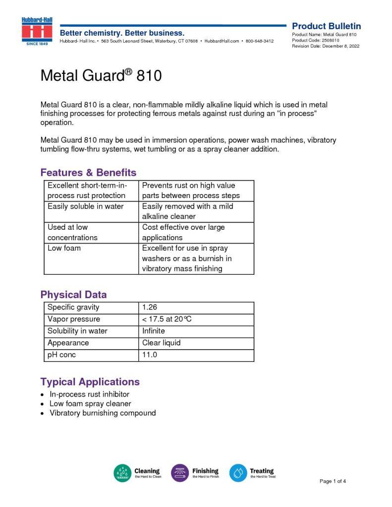metal guard 810 pb 2508010 pdf 791x1024