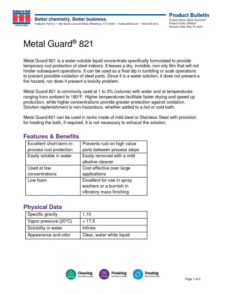 metal guard 821 pb 2508021 pdf 791x1024