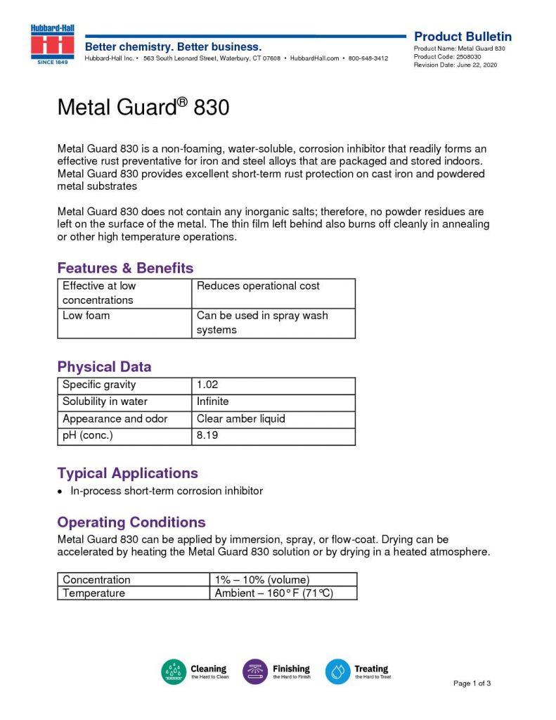 metal guard 830 pb 2508030 pdf 791x1024