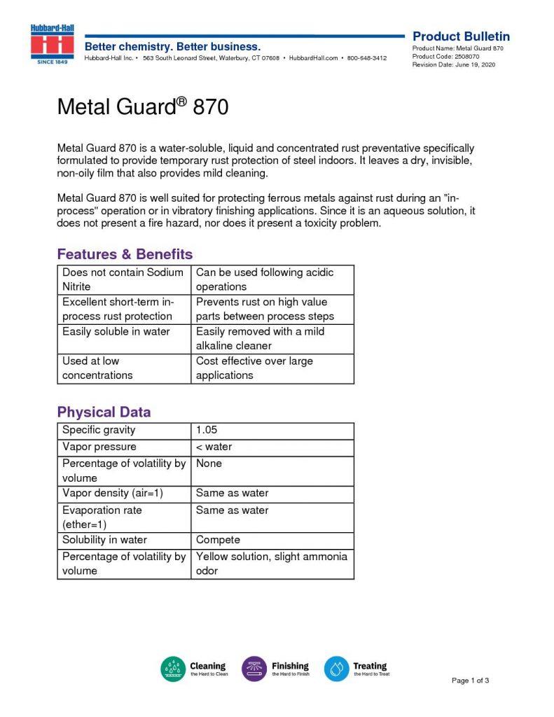 metal guard 870 pb 2508070 pdf 791x1024