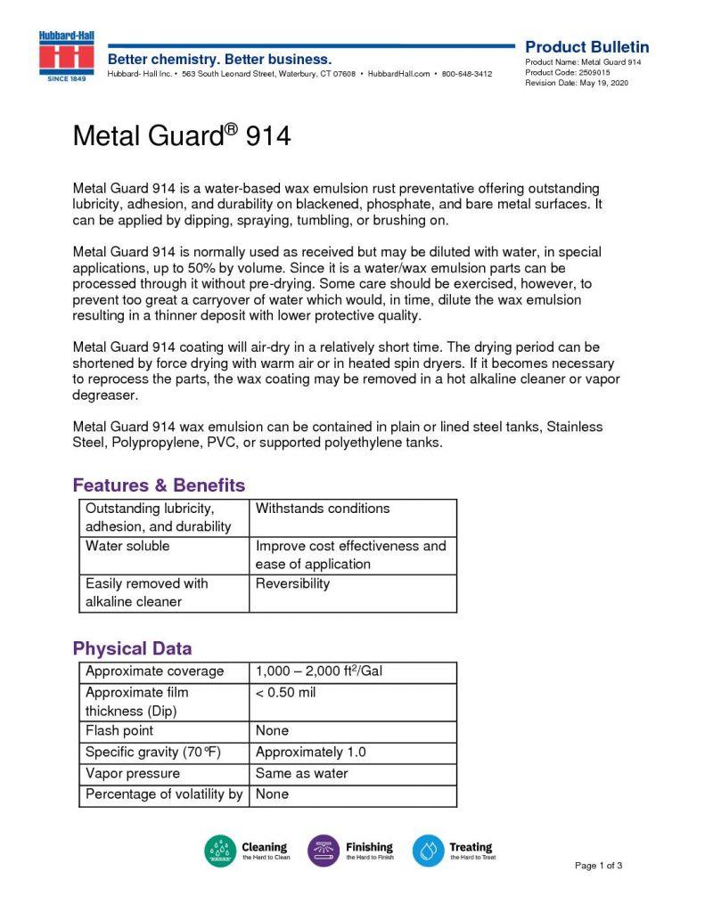 metal guard 914 pb 2509015 pdf 791x1024