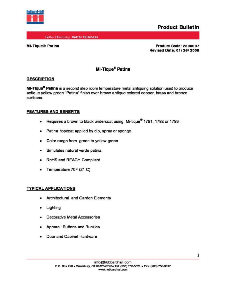 mi tique patina pb 2300007 pdf 791x1024