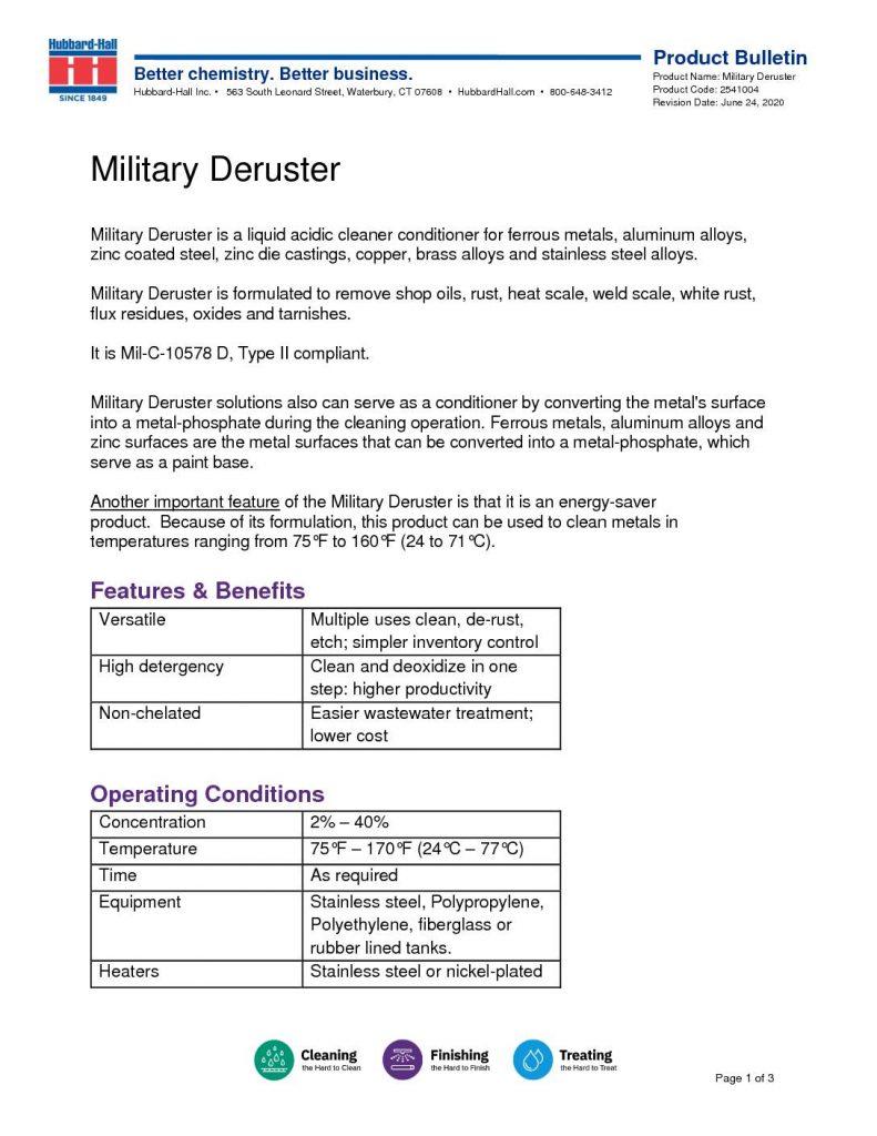 military deruster pb 2541004 pdf 791x1024