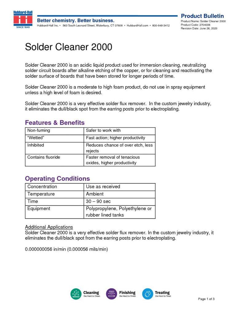 solder cleaner 2000 pb 2704006 pdf 791x1024