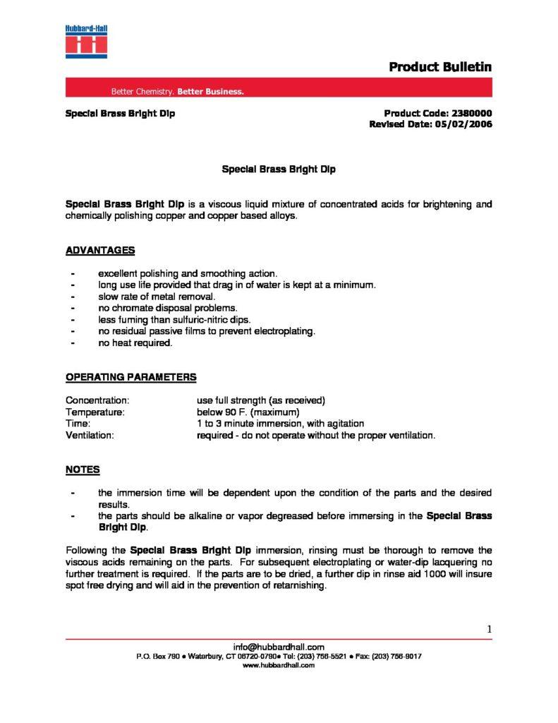 special brass bright dip pb 2380000 pdf 791x1024