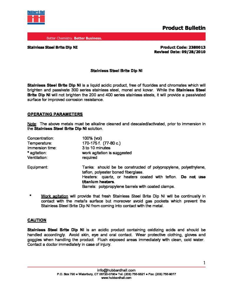 stainless steel brite dip ni pb 2380013 pdf 791x1024