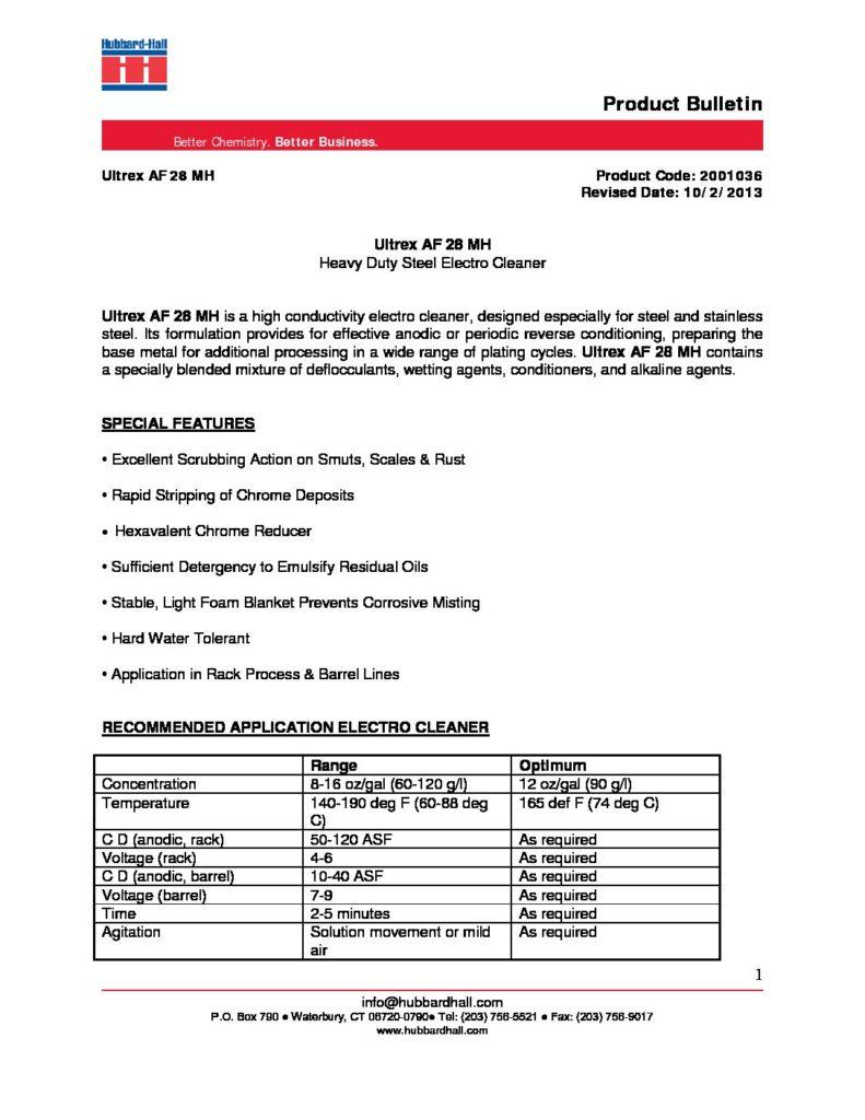 ultrex af 28 mh pb 2001036 pdf 791x1024