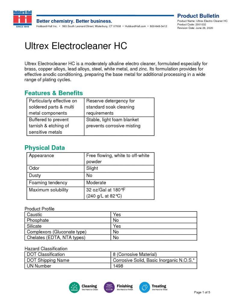 ultrex electrocleaner hc pb 2001032 pdf 791x1024